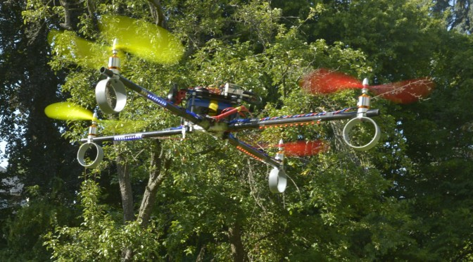 NEUROCOPTER: BIOMIMETIC FLYING PLATFORM FOR THE INVESTIGATION OF HONEYBEE NAVIGATION