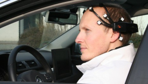 The EEG sensors used in BrainDriver